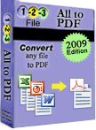 123FileConvert All To PDF Converter 5.0