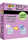 123FileConvert PDF To Word Converter